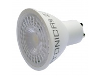 LED spuldze GU10 7W silti balta (OPTONICA)